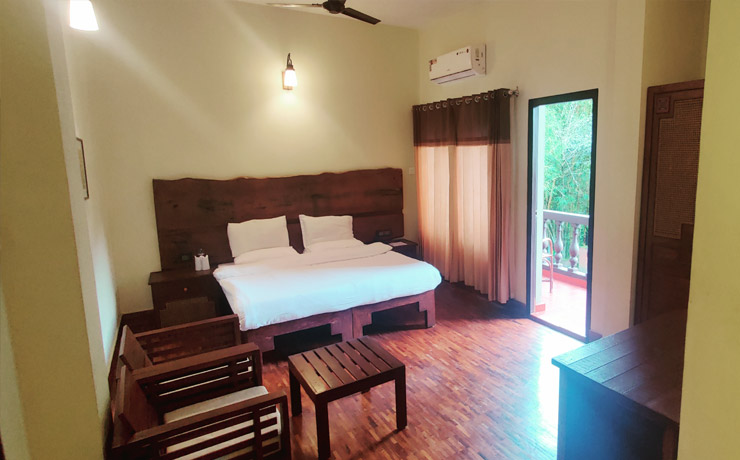 Luxury rooms at Green Gates Hotel
