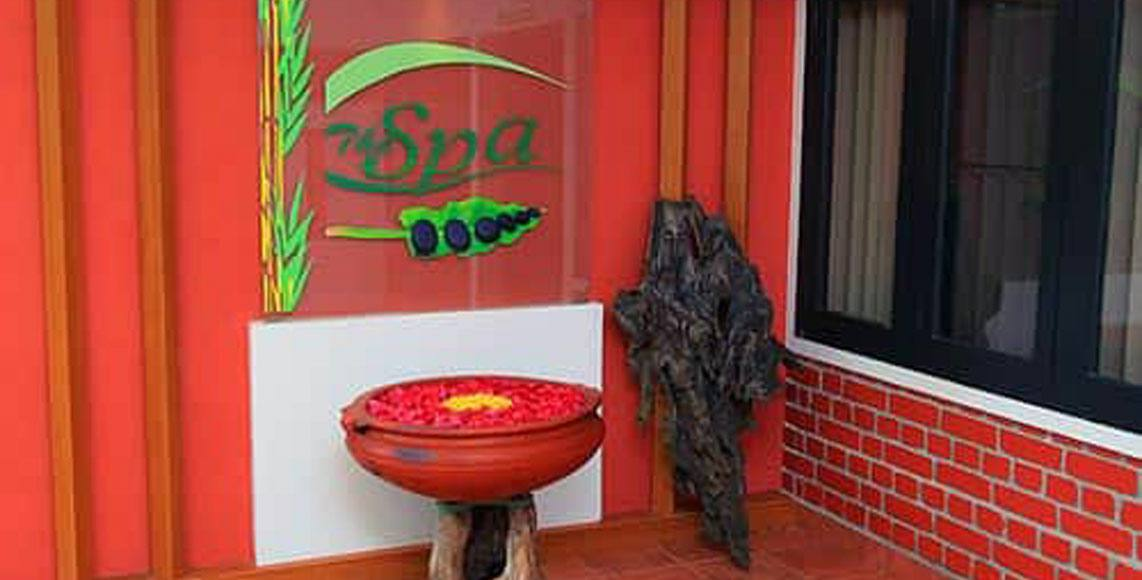 Ayurvedic spa at Green Gates Hotel
